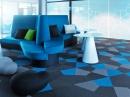 Виды напольных покрытий: ковровая плитка